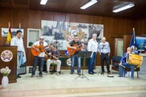 Actuación del Grupo musical Airiños do Mar de Teis